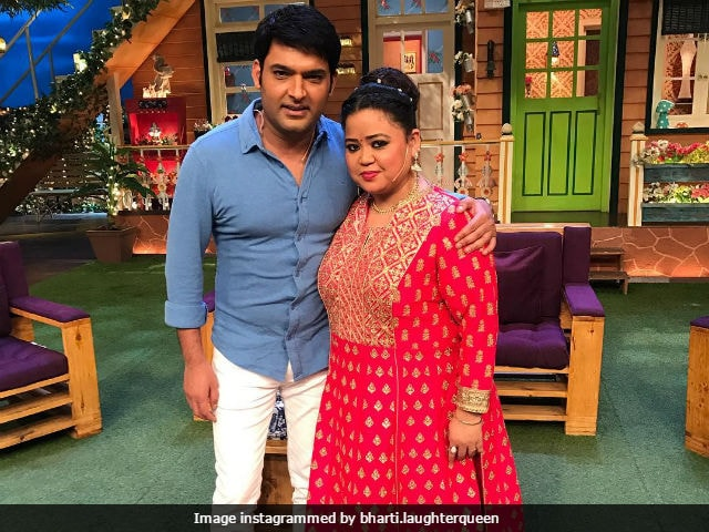 The Kapil Sharma Show: Bharti Singh Refutes Rumours Of Rift With Kapil Sharma, Shares Pic