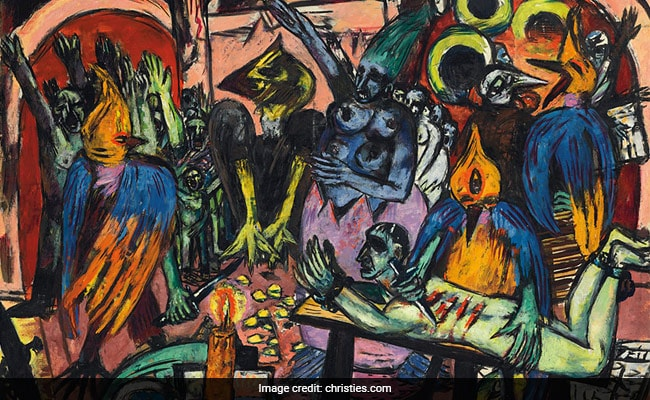 Auction Record $45.8 Million For German Painter Max Beckmann's 'Bird's Hell'