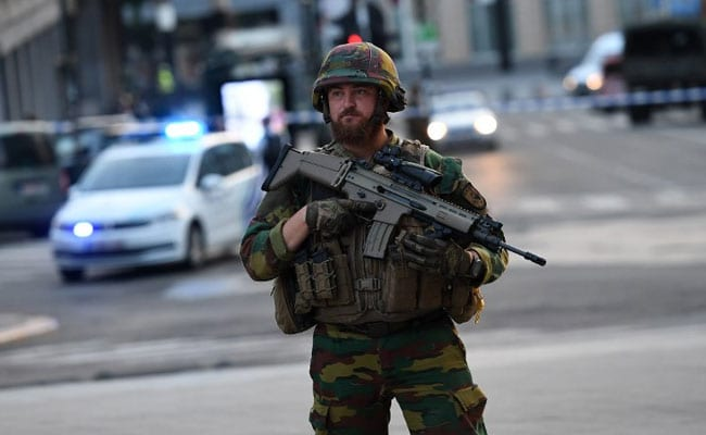 Brussels main train station evacuated, person 'neutralized' by soldiers guarding site