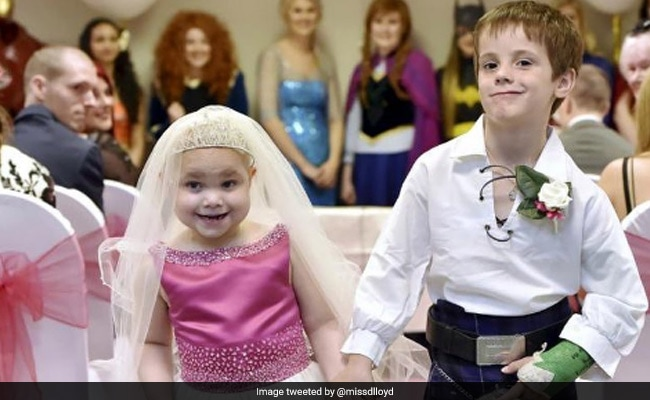 Terminally Ill 5-Year-Old 'Marries' Best Friend In Fairy Tale 'Wedding'