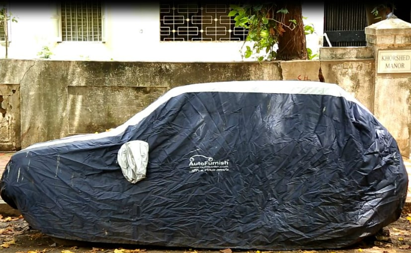 car cover in rain