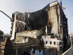 Chennai Building Burnt Down In Fire To Be Razed In 3 Days
