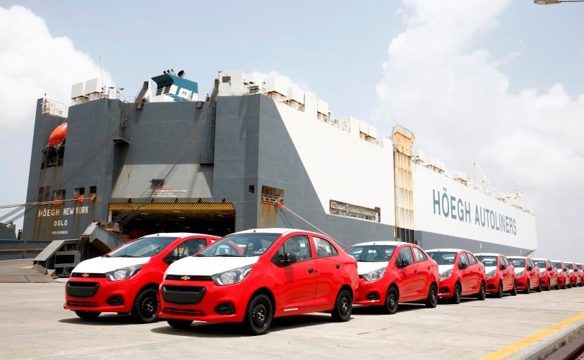 General Motors Starts Exporting Chevrolet Beat Sedan To Latin America From India