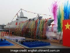 Indian Navy Outgunned As China Launches Its Biggest Destroyer