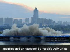 Watch: This Bridge In China Was Demolished In Just 3.5 Seconds