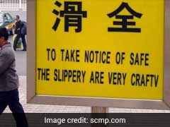 Goodbye 'Chinglish'. China To Take Down Public Signs With Bad English