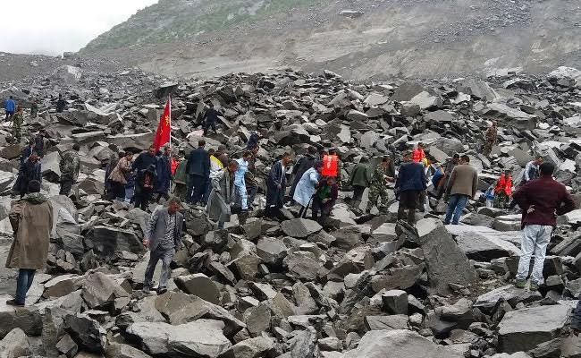 Five Dead, 120 People Missing In China Landslide