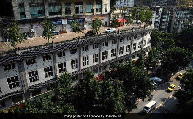 5-Storey Building Has A Road On Its Roof. See Pics To Believe It