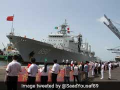 Chinese Navy Warships Return Home From Karachi Port