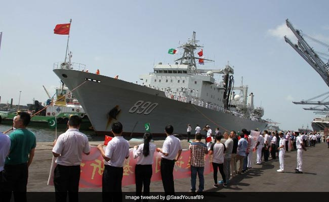 3 Chinese Warships Dock At Pakistan Port For Four-Day 'Training' Visit