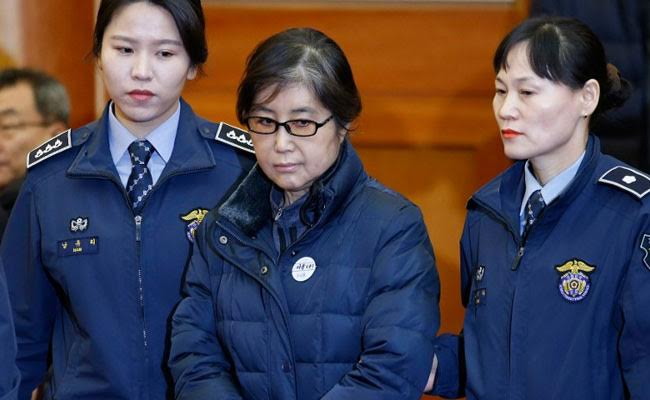 Disgraced South Korean Leader's Friend Choi Soon Sil Jailed For 3 Years