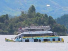 6 Dead, 31 Missing After Tourist Boat Sinks In Colombia