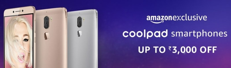 coolpad smartphones offer amazon