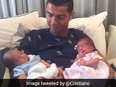 Double Delight For Cristiano Ronaldo As Portuguese Star Welcomes Twins