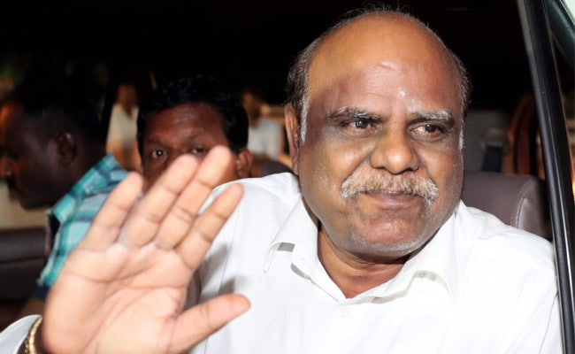 Jailed For Contempt, Former High Court Judge CS Karnan To Be Released Tomorrow