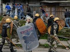 जीजेएम बंद : पृथक राज्य के लिए निकाली गई रैलियां, पुलिस सतर्क