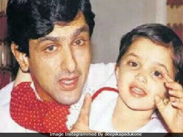 Deepika Padukone Wishes Happy Birthday To Dad Prakash Padukone With This Childhood Pic