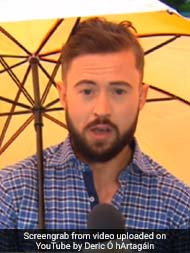 Gone With The Wind: Weatherman 'Blown Away' During Live Broadcast