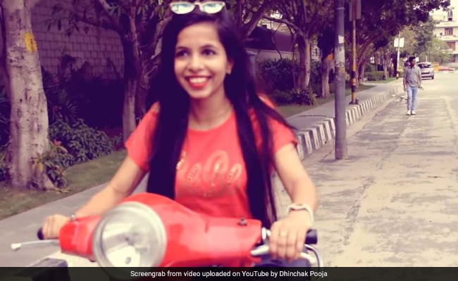 Dhinchak Pooja's Scooter Lands Her In Trouble With Delhi Cops. Here's Why
