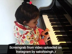 ICC Champions Trophy 2017: Watch MS Dhoni's Daughter Ziva Displaying Her Musical Talents