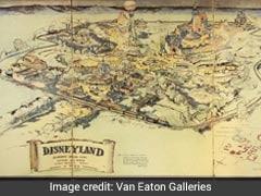 Original Disneyland Map Sketched By Walt Disney Fetches Over $700K