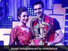 दिव्यांका त्रिपाठी और विवेक दहिया ने जीती 'नच बलिए 8' की ट्रॉफी, जीत के बाद यूं मनाया जश्न