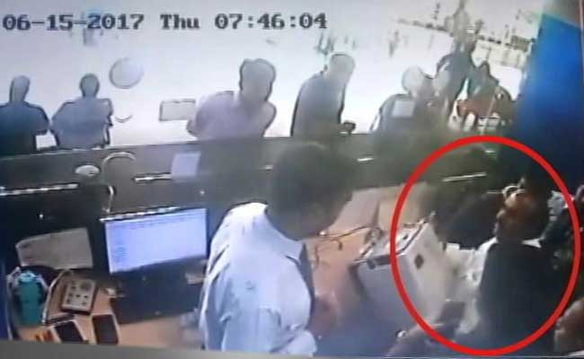TDP leader creates ruckus at Visakhapatnam airport