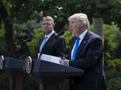 President Donald Trump Says US Committed To NATO Defense, Knocks Russia Over Ukraine
