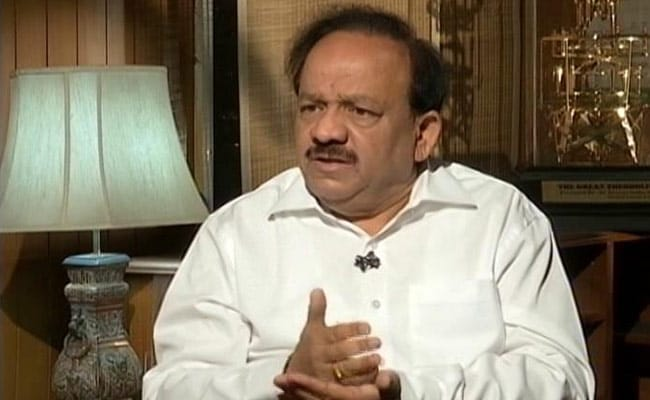 Can't Do A 'Surgical Strike' On Air Pollution, Says Minister Harsh Vardhan
