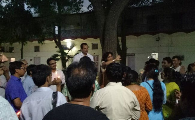 DUTA Candle-Light Vigil To Protest Against 'Assault On Higher Education'