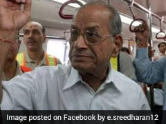 'Metro Man' E Sreedharan Resigns As Advisor To Lucknow Metro Citing Health Issues