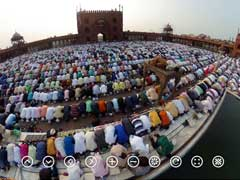 360 Degree View Of Eid Prayers At Delhi's Famous Jama Masjid