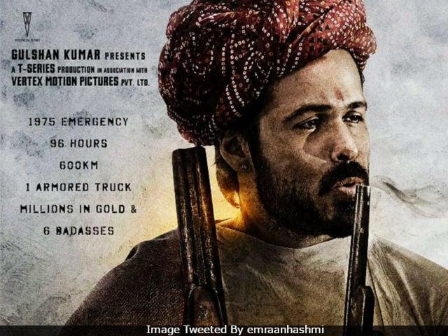 Ajay Devgn's Baadshaho: Here's Emraan Hashmi As 'The Guns And Roses Badass'