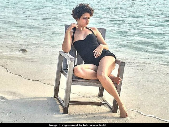 Actor Fatima Sana Shaikh Trolled For Wearing Swimsuit During Ramzan