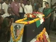 Body Of Sukhoi Su-30 Pilot Brought To Kerala With Honours
