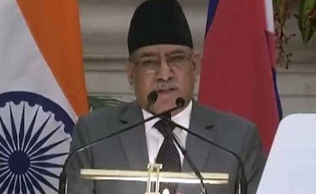 प्रचंड ने के पी शर्मा ओली पर भारत के निर्देश पर नेपाली संसद को भंग करने का लगाया आरोप