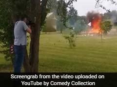 Video : रायफल से निशाना साधे खड़े इस शख्स के पास से जब मौत कुछ इंच की दूरी से गुजर गई