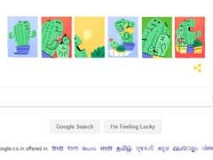 Google Doodle Celebrates Father's Day Showing Beautiful Father-Child Bond