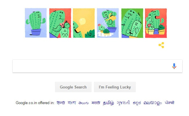 Google marks Father's Day through special doodle