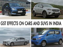 GST Effect On Cars And SUVs: Prices In India