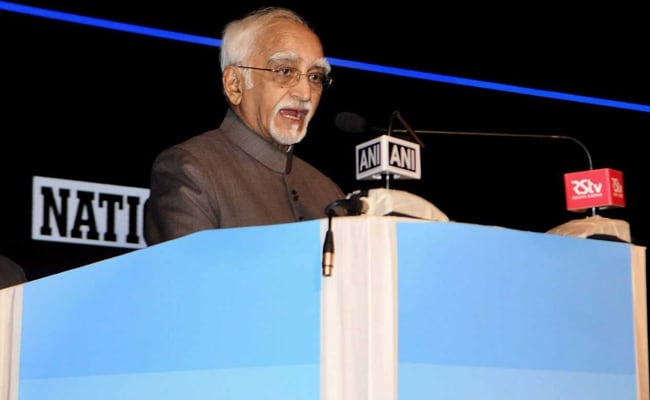 Attack On Press Would Jeopardise Citizens' Rights: Hamid Ansari