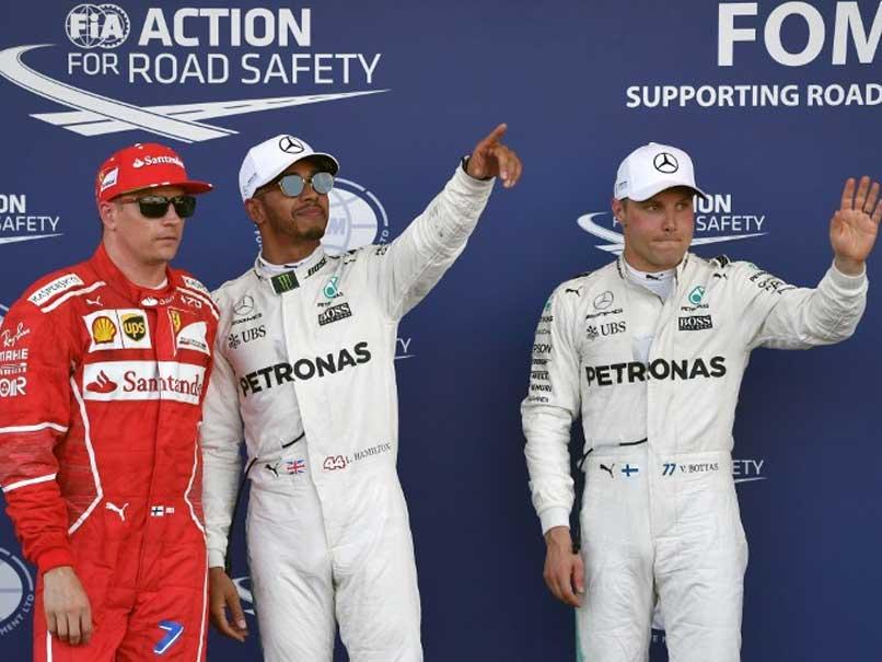 Azerbaijan GP: Lewis Hamilton Grabs Pole Ahead Of Teammate Valtteri Bottas