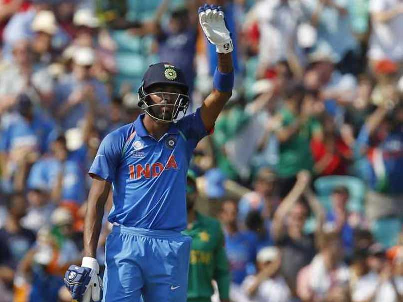 Champions Trophy Hardik Pandya Hits Fastest Half Century In ICC Tournament Finals
