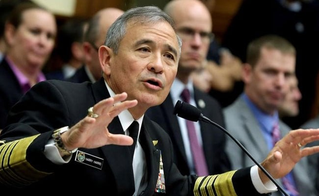 US Pacific Commander Harry Harris Expected To Step Down Next Year