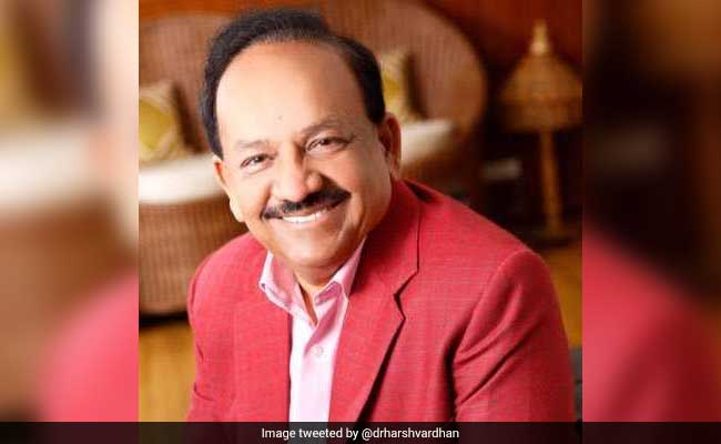 Don't Intend To Alter 'Food Habit': Harsh Vardhan