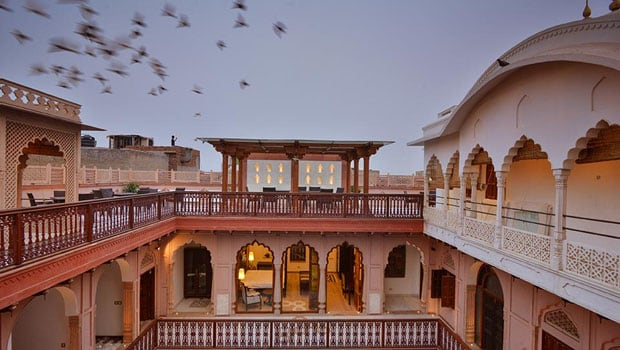 A Lavish 7-Course Dinner at a Haveli in Old Delhi Built 200 Years Ago