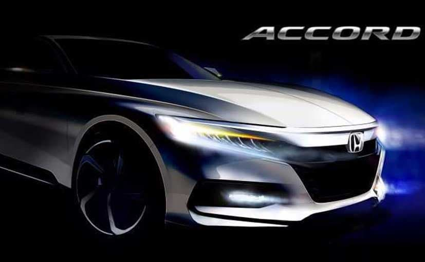 2018 Honda Accord Sketch Released; Will Be Unveiled Next Month