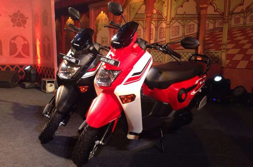 Honda Cliq 110 Cc Scooter Launched In India Priced At Rs 42499