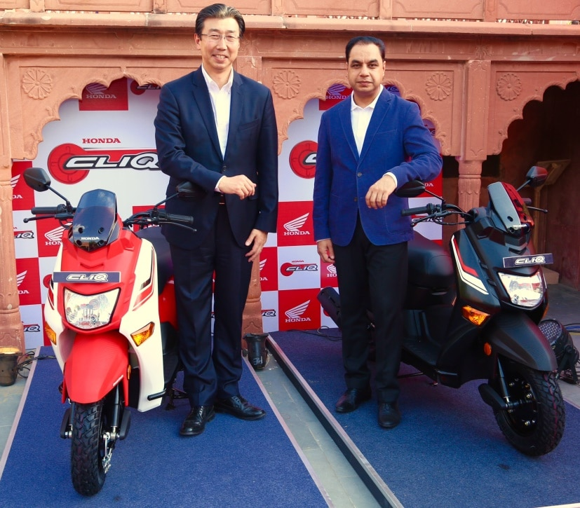 Honda CLIQ Scooter Launch: Highlights