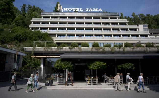 hotel jama slovenia afp
